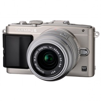 Фотоаппарат Olympus Pen E-PL5 Kit M1442 IIR Silver