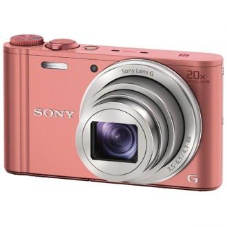 Фотоаппарат цифровой Sony Cyber-shot DSC-WX350 Pink