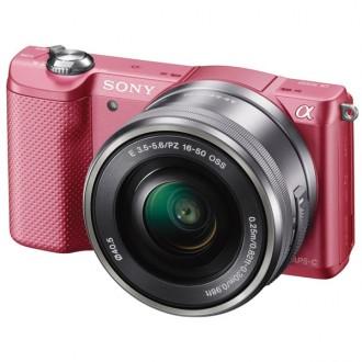 Фотоаппарат Sony Alpha A5000 Kit 16-50 mm  Pink
