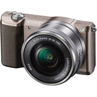 Фотоаппарат Sony Alpha ILCE-5100 Kit 16-50 mm Bronze