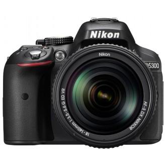Фотоаппарат зеркальный Nikon D5300 Kit 18-55 VR II Black