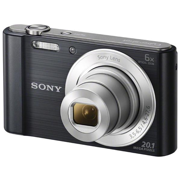 Фотоаппарат цифровой Sony Cyber-shot DSC-W810 Black