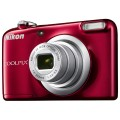 Фотоаппарат  цифровой Nikon CoolPix A10 (VNA982E1) Red