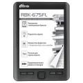 Электронная Книга Ritmix RBK-675FL Black