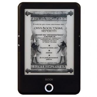 Электронная книга ONYX BOOX T76SML Nefertiti Black