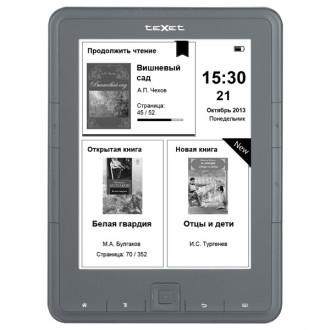Электронная книга teXet Grey