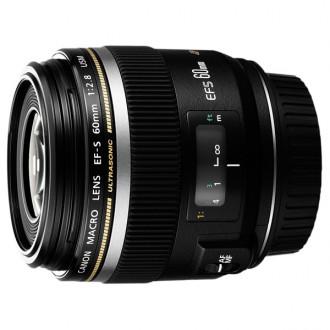 Объектив для зеркального фотоаппарата Canon EFS60mm f/2.8 Macro USM