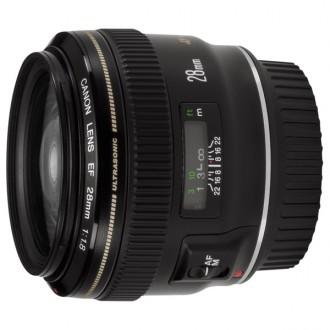 Объектив для зеркального фотоаппарата Canon EF28mm f/1.8 USM