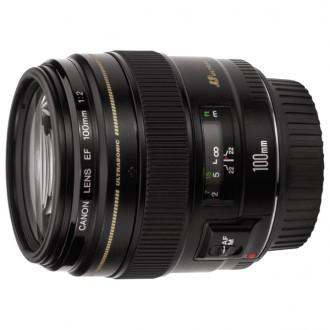 Объектив для зеркального фотоаппарата Canon EF100mm F/2 USM