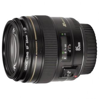 Объектив для зеркального фотоаппарата Canon EF85 f/1.8 USM