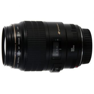 Объектив премиум Canon EF100 f/2.8USM Macro