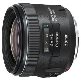 Объектив премиум Canon EF 35mm f/2 IS USM