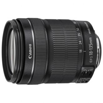 Объектив для зеркального фотоаппарата Canon EF-S 18-135mm f/3.5-5.6 IS STM