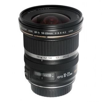 Объектив для зеркального фотоаппарата Canon EF-S 10-22mm f/3.5-4.5 USM