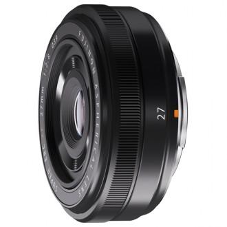 Объектив премиум Fujifilm XF27mm F2.8 Black