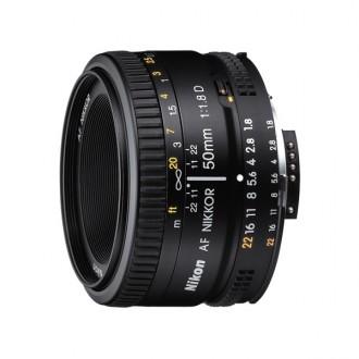 Объектив для зеркального фотоаппарата Nikon AF Nikkor 50mm f/1.8D