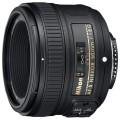Объектив для зеркального фотоаппарата Nikon 50mm f/1.8G AF-S Nikkor