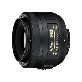 Объектив для зеркального фотоаппарата Nikon AF-S DX Nikkor 35mm f/1.8G
