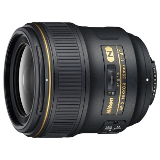 Объектив премиум Nikon AF-S NIKKOR 35mm f/1.4G