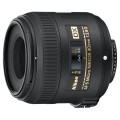 Объектив для зеркального фотоаппарата Nikon 40mm f/2.8G AF-S DX Micro Nikkor