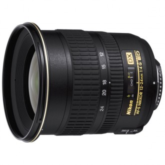Объектив для зеркального фотоаппарата Nikon 12-24mm f/4G ED-IF AF-S DX Zoom-Nikkor