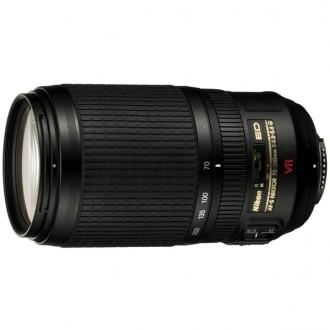 Объектив для зеркального фотоаппарата Nikon AF-S Zoom-Nikkor 70-300mm f/4.5-5.6G ED VR