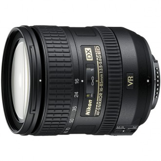 Объектив для зеркального фотоаппарата Nikon AF-S DX Nikkor 16-85mm f/3.5-5.6G ED VR