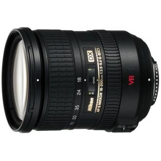 Объектив для зеркального фотоаппарата Nikon AF-S DX Nikkor 18-200mm f/3.5-5.6G ED VR II