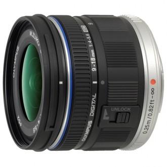 Объектив для системного фотоаппарата Olympus ED 9-18mm f/4.0-5.6 M.Zuiko Digital