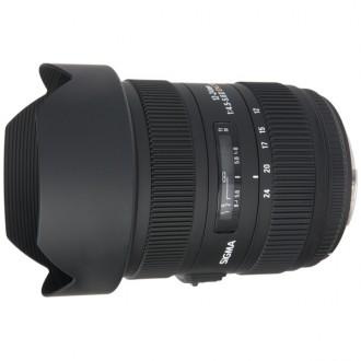 Объектив для зеркального фотоаппарата Sigma 12-24mm f/4.5-5.6 II DG HSM NIKON