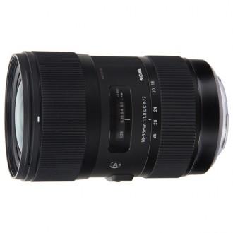 Объектив для зеркального фотоаппарата Sigma AF 18-35mm F1.8 DC HSM Canon