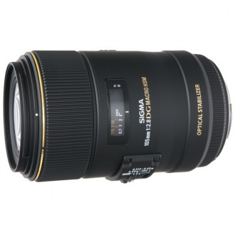 Объектив для зеркального фотоаппарата Sigma 105mm f/2.8 MACRO EX DG OS HSM CANON