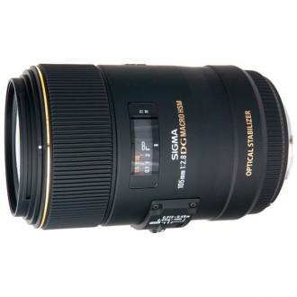 Объектив для зеркального фотоаппарата Sigma 105mm f/2.8 MACRO EX DG OS HSM NIKON