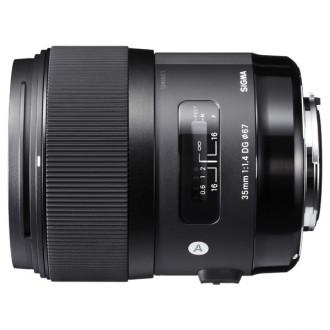 Объектив для зеркального фотоаппарата Sigma AF 35mm F/1.4 DG HSM Nikon