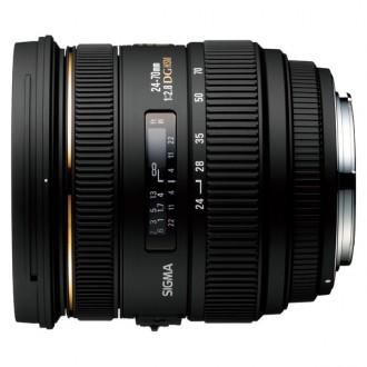 Объектив для зеркального фотоаппарата Sigma AF 24-70mm F2.8 IF EX DG HSM Canon
