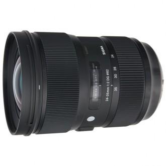 Объектив для зеркального фотоаппарата Sigma 24-35mm f/2.0 DG HSM CANON