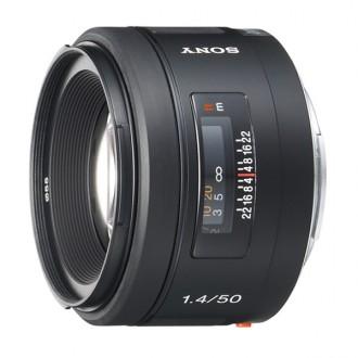 Объектив для зеркального фотоаппарата Sony SAL50F14