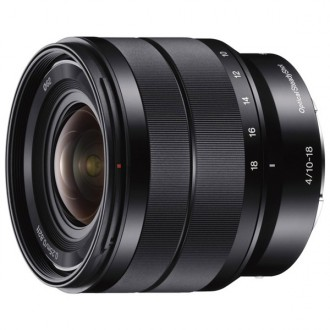 Объектив для системного фотоаппарата Sony 10-18mm f/4