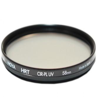 Светофильтр премиум Hoya PL-CIR UV HRT 58 mm