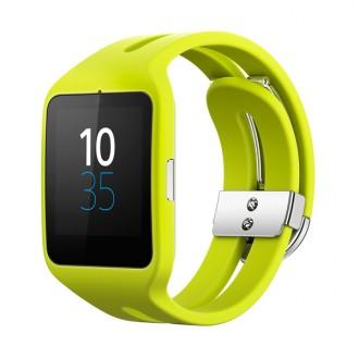 Смарт-часы Sony SmartWatch 3 SWR50 Rubber Yellow