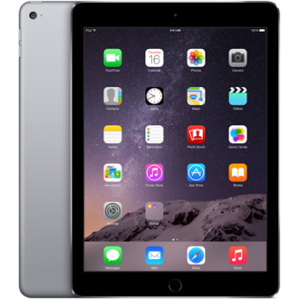 Планшет Apple iPad Air 2 128Gb Wi-Fi Space Gray MGTX2RU/A