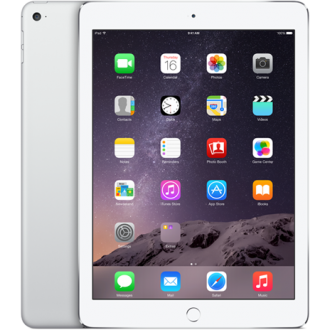 Планшет Apple iPad Air 2 128Gb Wi-Fi Silver MGTY2RU/A
