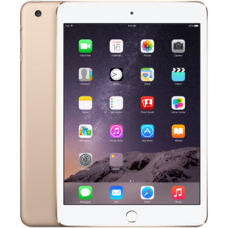 Планшет Apple iPad mini 3 128Gb Wi-Fi + Cellular Gold MGYU2RU/A