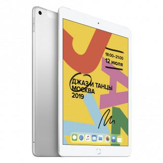 """Планшет Apple iPad 10,2"""" 32Gb Wi-Fi + Cellular MW6C2RU/A Silver"""