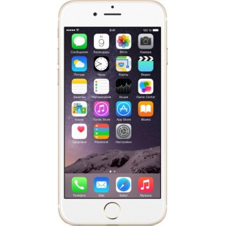 Смартфон Apple iPhone 6 16Gb Gold MG492RU/A