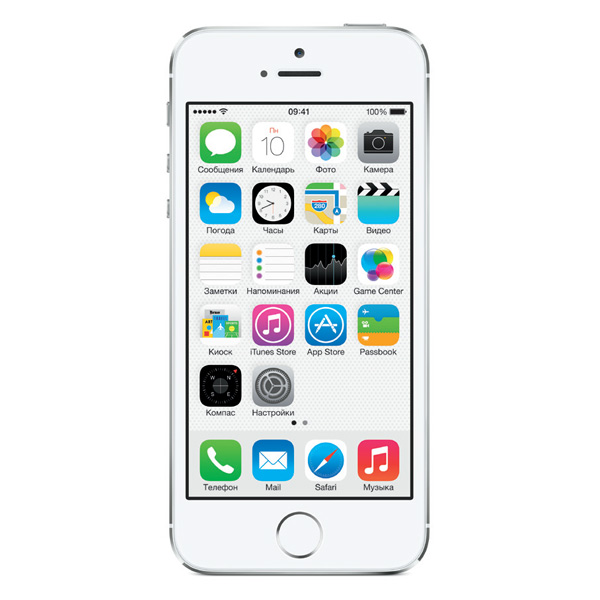 Apple Смартфон Apple iPhone 5S 16Gb Silver (ME433RU/A)