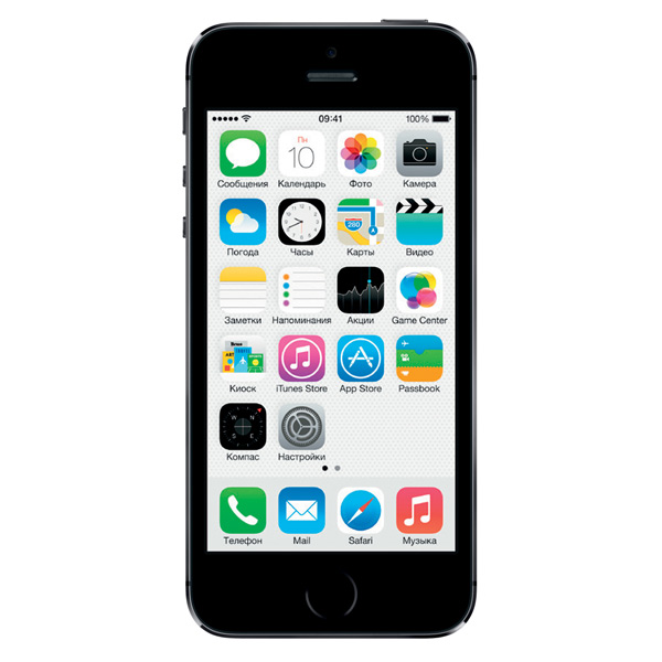 Apple Смартфон Apple iPhone 5S 16Gb Space Gray (ME432RU/A)