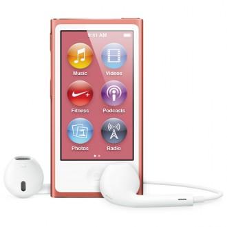 Плеер MP3 Apple iPod nano 7 16Gb Pink MD475RU/A