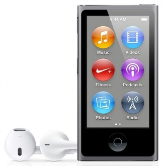 Плеер MP3 Apple iPod nano 7 16Gb Space Gray ME971RU/A