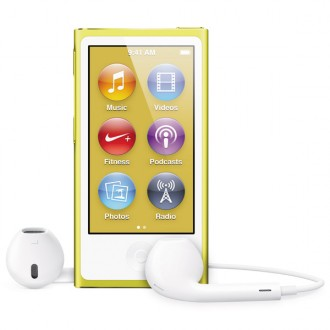 Плеер MP3 Apple iPod nano 7 16Gb Yellow MD476RU/A